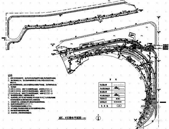 [湖南]某市体育中心环境景观喷灌施工图