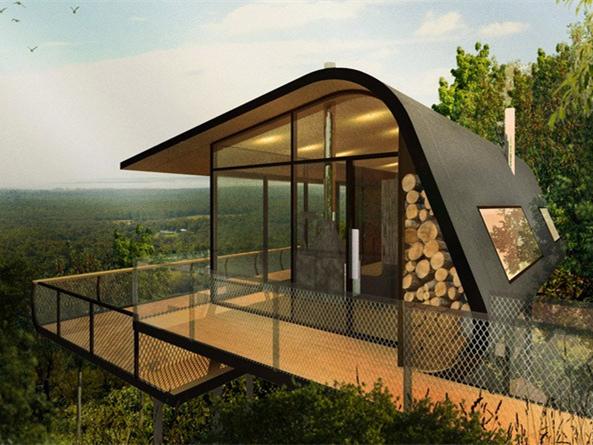 澳大利亚概念性生态小屋-澳大利亚概念性生态小屋第1张图片