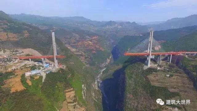 用火箭架桥!云南200层楼高的世界第一高桥!震惊世界!_2