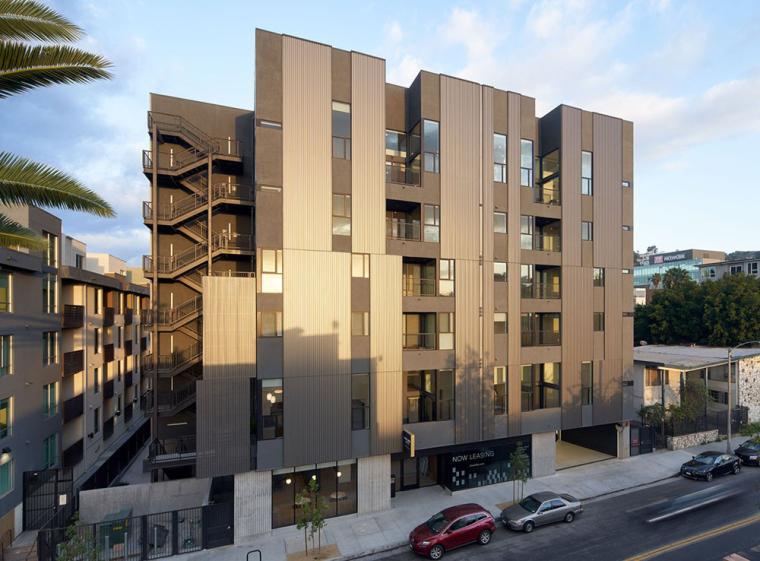 美国独特的线性阁楼公寓
