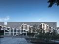 合肥工业大学宣城二期教学楼——徽派文化元素的探索 / 华南理工
