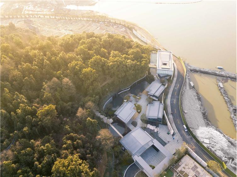 万科白石湖东住宅新中式景观-2