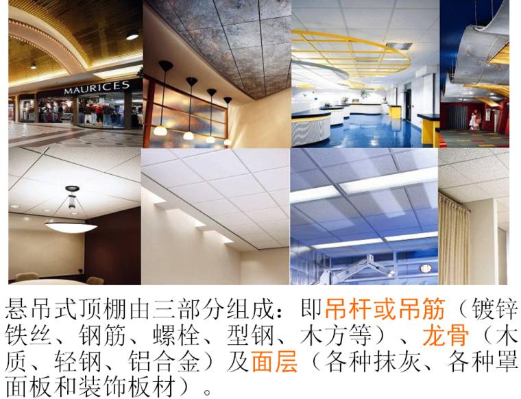 建筑装饰装修工程装饰材料与施工工艺培训讲义(120余页)