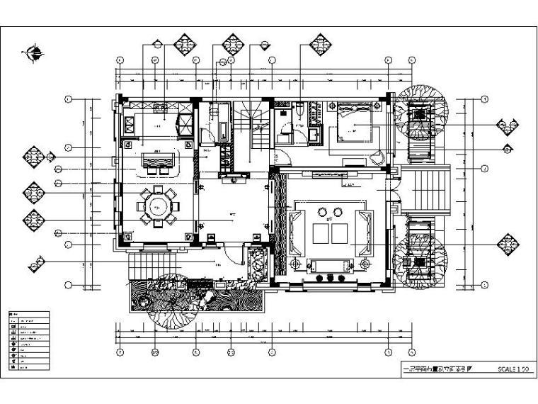 [长春]某别墅样板房设计施工图