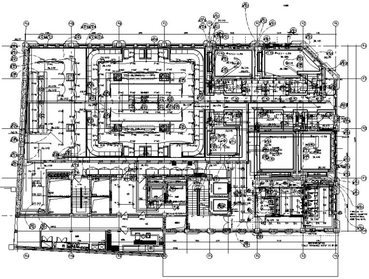 南京五星级酒店室内装饰修缮工程机电设备施工图