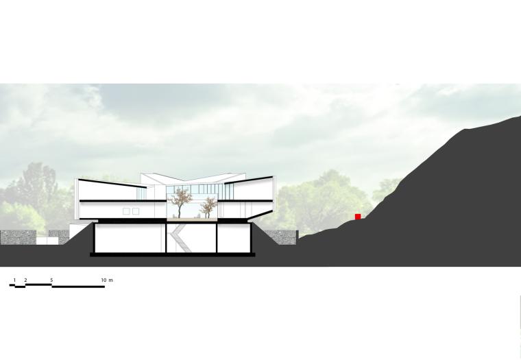 宁波杜岙美术馆立面图图片