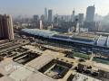 濟南火車站北廣場主體工程基本完工