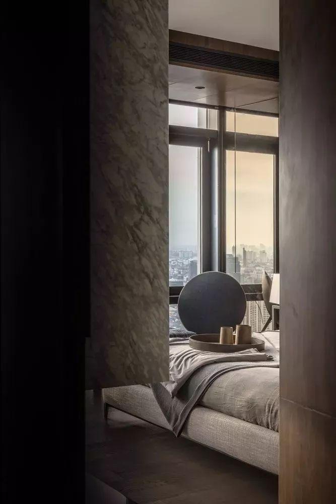 室内设计 130㎡的单身公寓,设计感十足_38