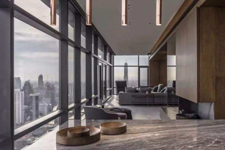 室内设计 130㎡的单身公寓,设计感十足_19