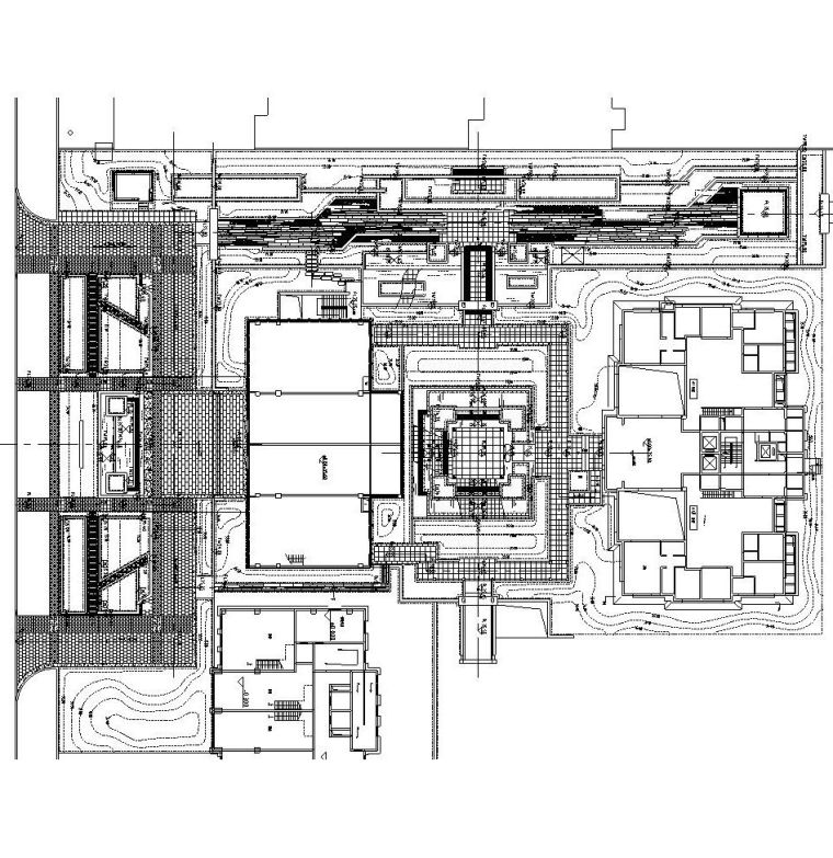 [北京]保利东郡居住区样板区施工图设计(CAD)