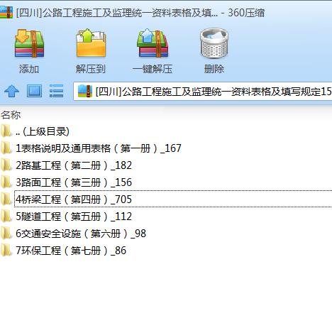 [四川]公路工程施工及监理统一资料表格及填写规定1506页_1