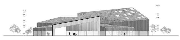 丹麦Ørestad多功能体育中心-19