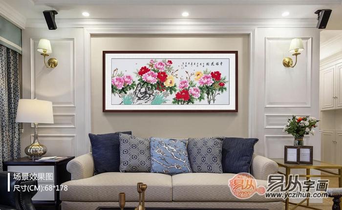 适合客厅的国画推荐,这样的画挂在家中气韵非凡!