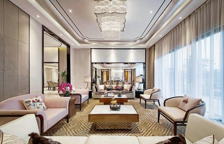 206㎡新中式豪宅别墅