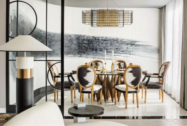 跃层都市公寓融入4种风格后,竟然如此惊艳!_16