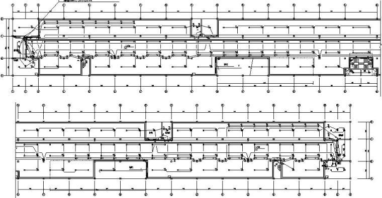 住宅小区地下车库电气施工图(系统完整)