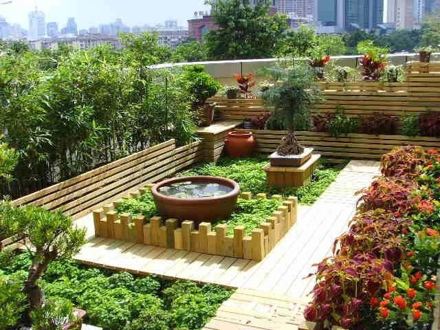 屋顶上的园林——屋顶花园景观设计及施工_4