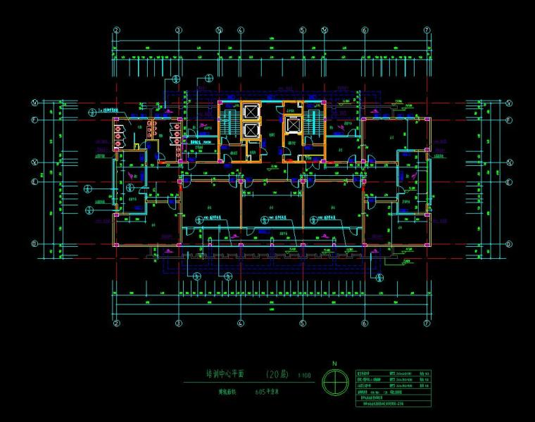 [山东]某地税局办公楼施工图设计(14个CAD+80张图)_7