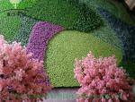 仿真植物墙与现代化结合