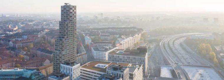 "OMA和BIG都在瑞典建起了""乐高""住宅,建筑圈的""像素大战""正在"