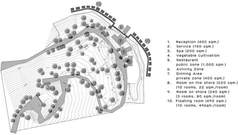 超美的水上筏式酒店設計,美出了新高度_22