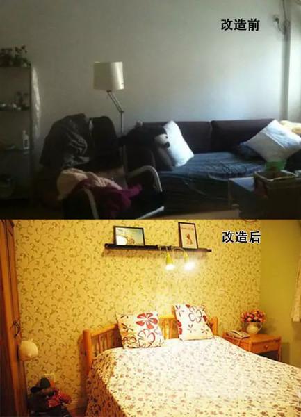 看巧改四十平小户型老房空间,变身时尚的三口之家_2