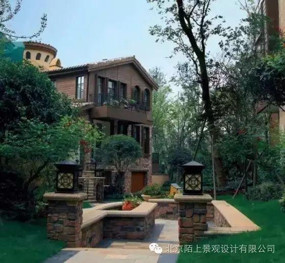 别墅景观设计,精致私家花园