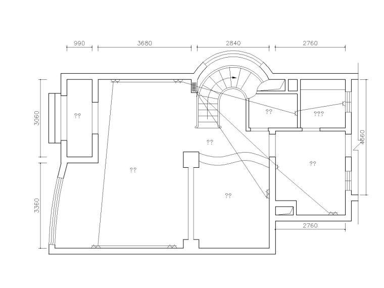 214套别墅室内装饰户型布局CAD设计图(附预算图集)