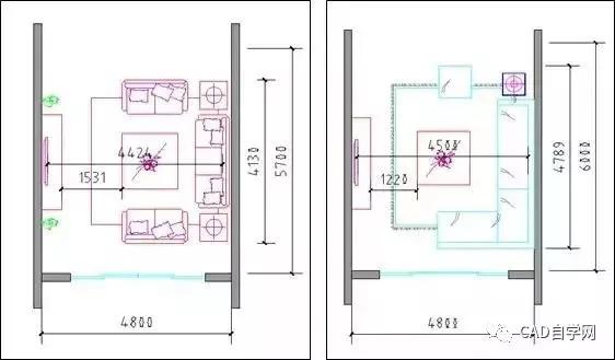 u型厨房橱柜尺寸资料下载-设计师终极福利!所有户型室内设计尺寸图解分析,建议永久收藏!