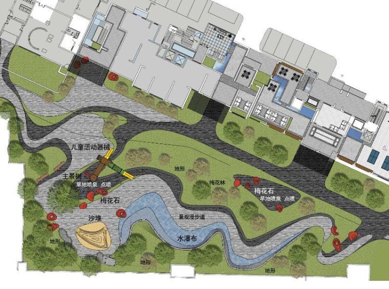 [江西]知名地产南昌青山湖名邸景观设计方案(PPT+218页)-平面图1