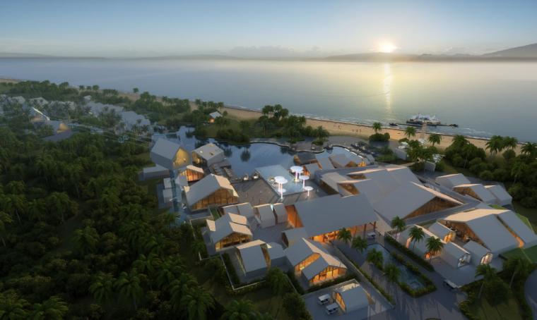 [海南]西岛珊瑚度假村—AECOM
