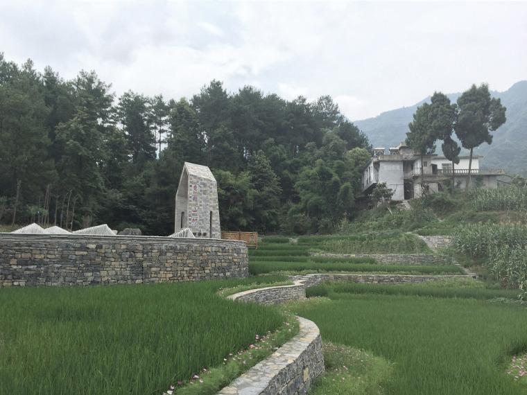 遵义尧龙山村村口景观