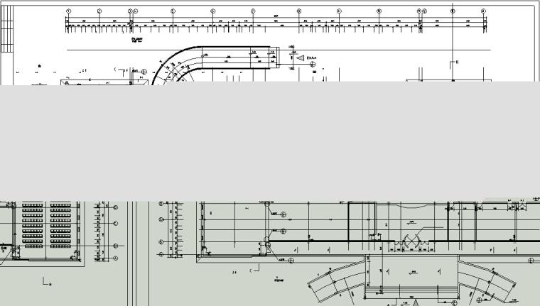 5套商务办公楼建筑设计施工图CAD-新中式多层办公楼建筑设计平面图2