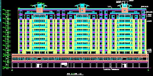 12层高层商住楼全套图(含架空层)