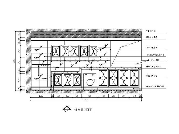 【山西】美式风格跃层公寓设计CAD施工图(含效果图)_3