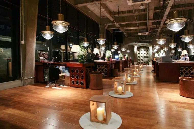 上海现代感的老场坊博览馆室内实景图 (5)