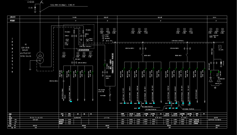220KV变电站全套电气设计图纸