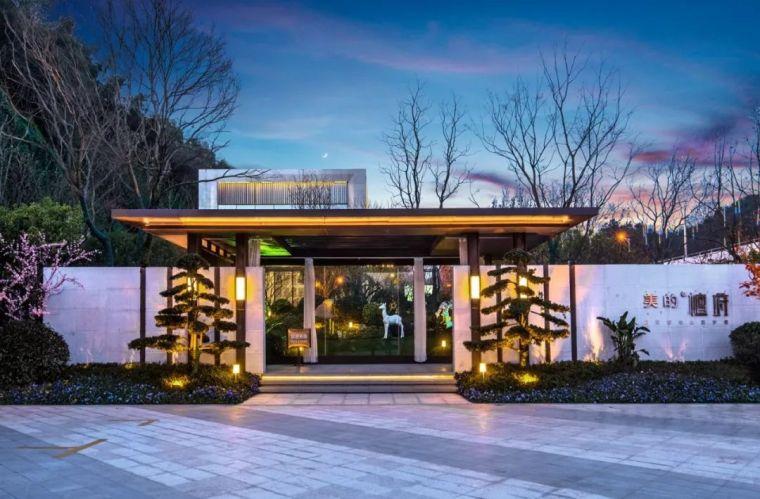 650平米依山而建销售中心设计,很惊艳!_2
