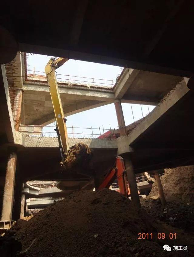 【图解案例】超高层建筑22米深基坑逆作法施工现场,看基础如何倒_22