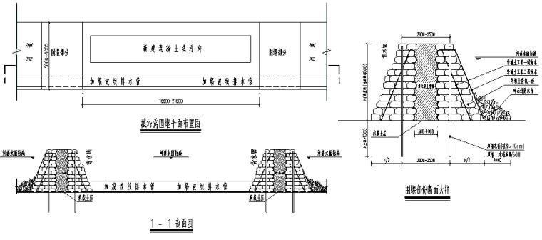 截污沟工程河道围堰专项施工方案