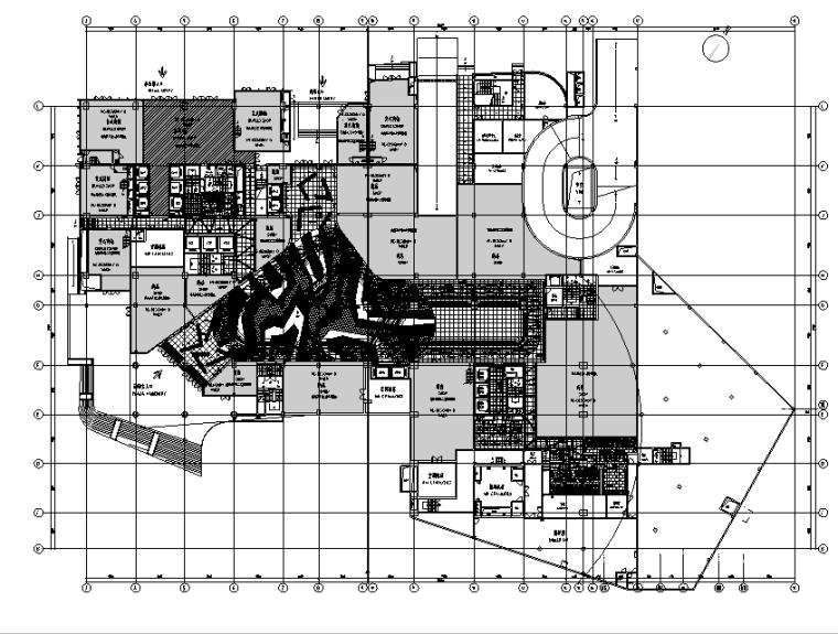 [重庆]凯悦商场空间设计施工图(附效果图)