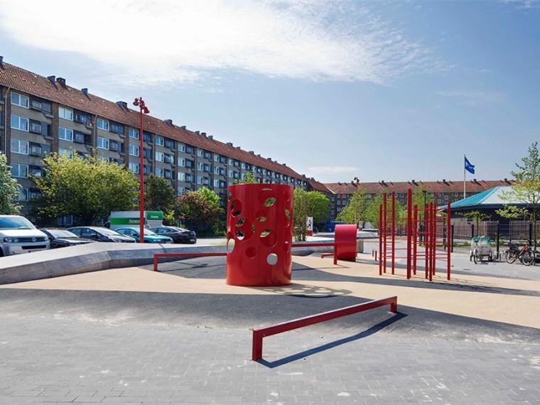 丹麦Bavnehøj竞技场广场