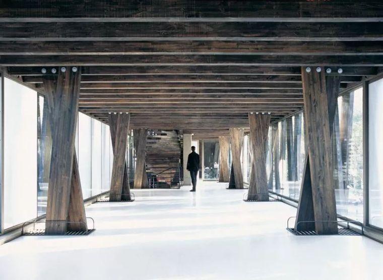 21张木结构建筑施工大样剖面图,学会人人都是'隈研吾'