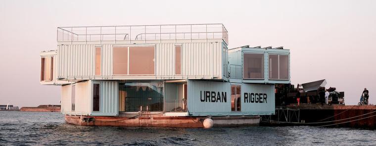 BIG作品——漂浮在海上的集装箱公寓