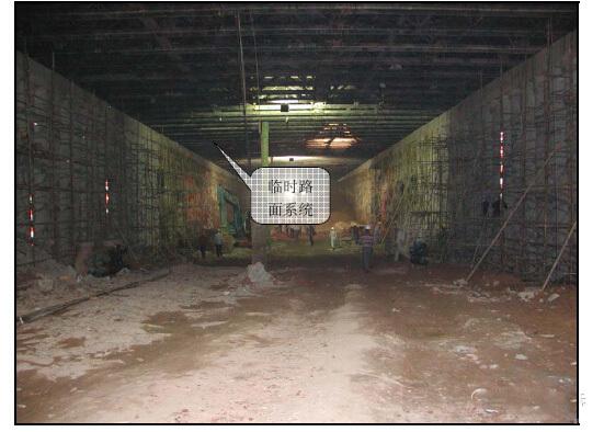 地铁车站盖挖法作业程序详解