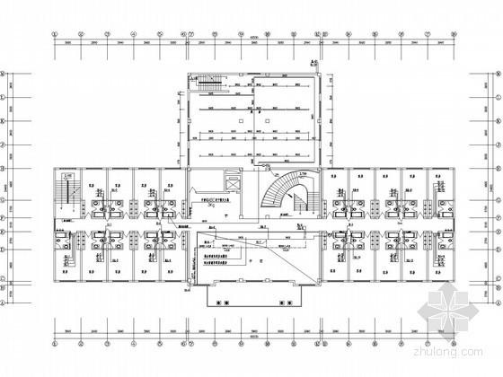 [北京]五层宾馆给排水图纸(内含KTV娱乐)