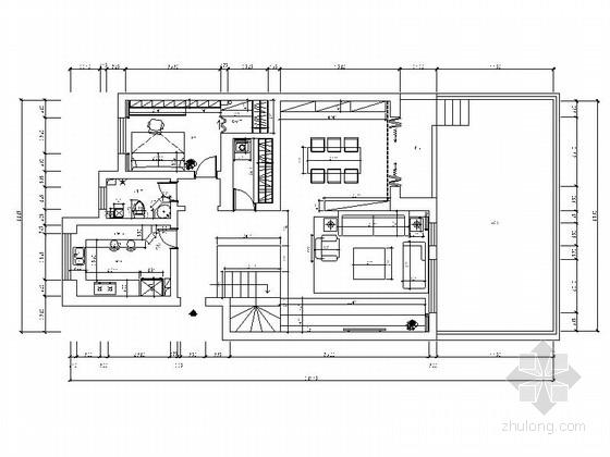 LOFT现代简约风格住宅室内装修施工图(含效果图 推荐!)