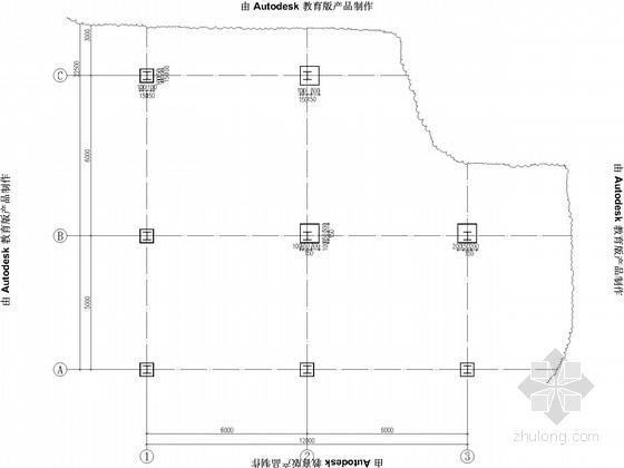 原混凝土结构加层钢结构加固改造施工图