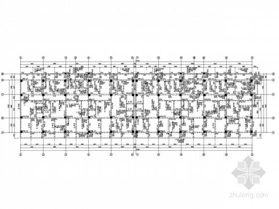 底部商业上部住宅框架结构施工图