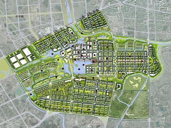 [安徽]绿色诗意旅游小城景观规划设计方案